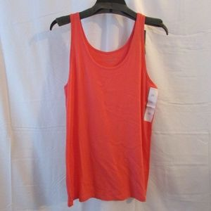 Pure Energy NWT Coral Color Tank Size 2X